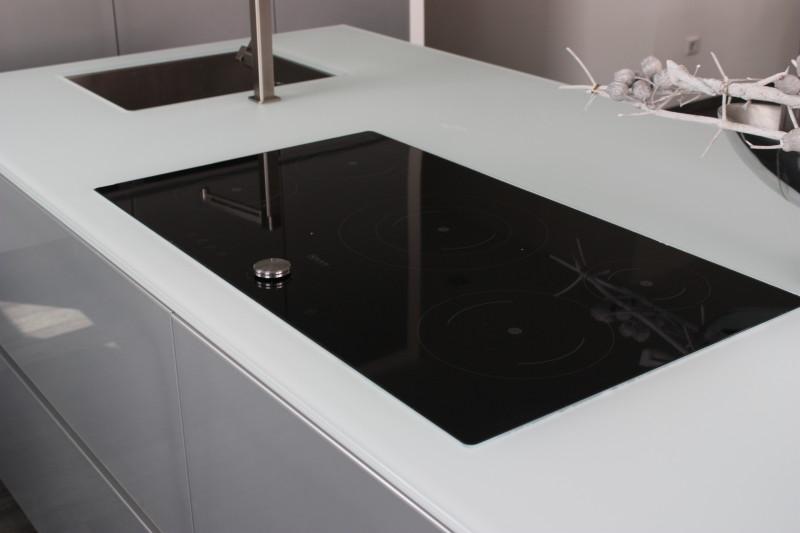 Echtglas Design Küche
