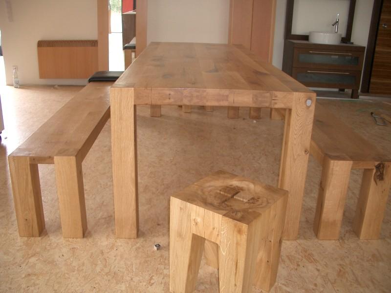 Design Tisch Zinn