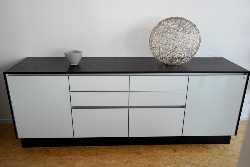 Design Sideboard Echtglas S