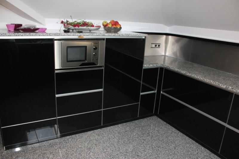 Design Küche Glas Granit D › Einrichtung-Exklusiv
