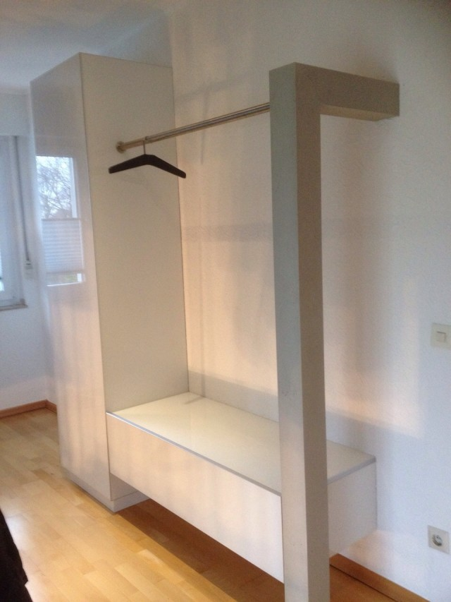 Design Garderobe Weiss L › Einrichtung-Exklusiv