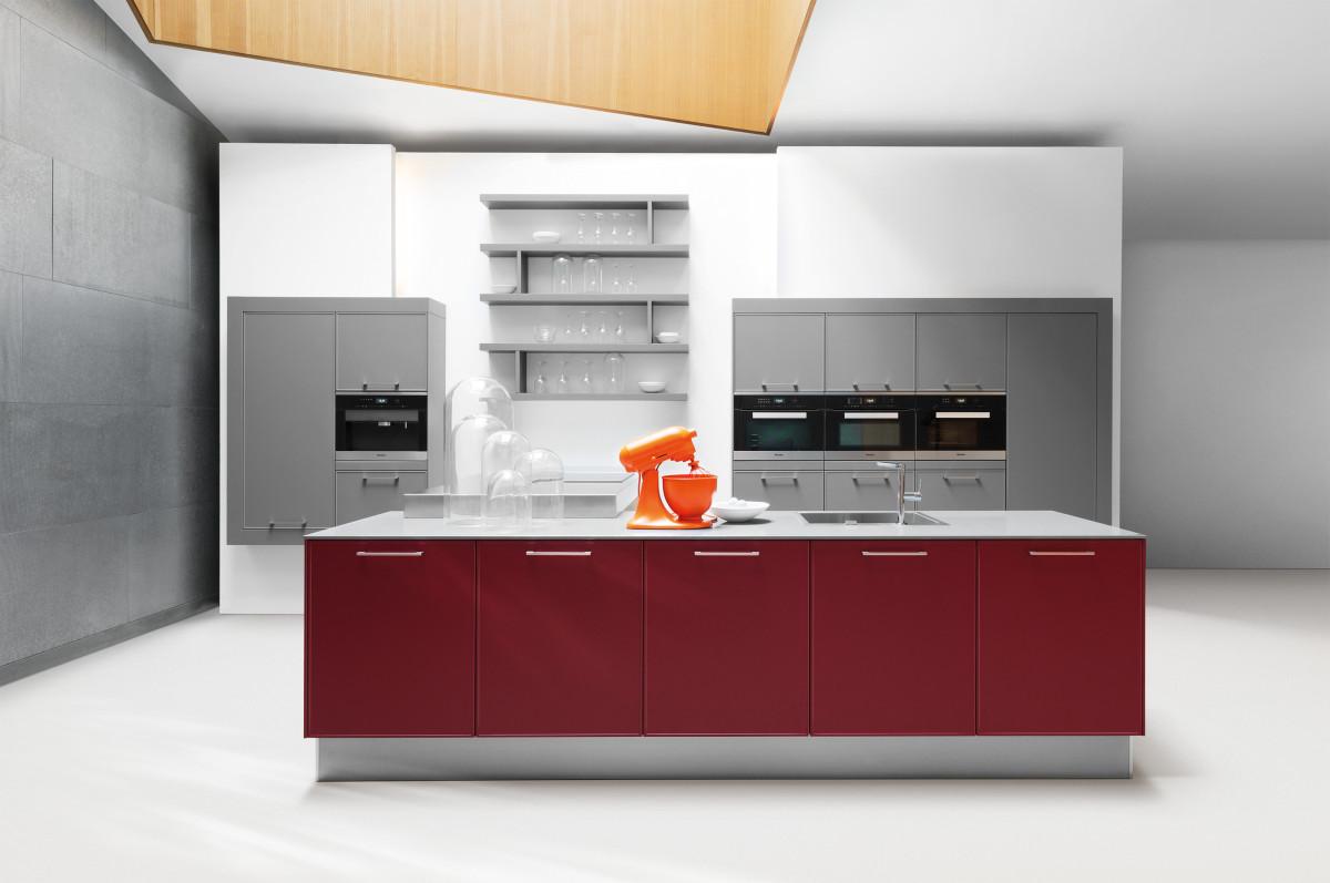Küche Weinrot – sehremini