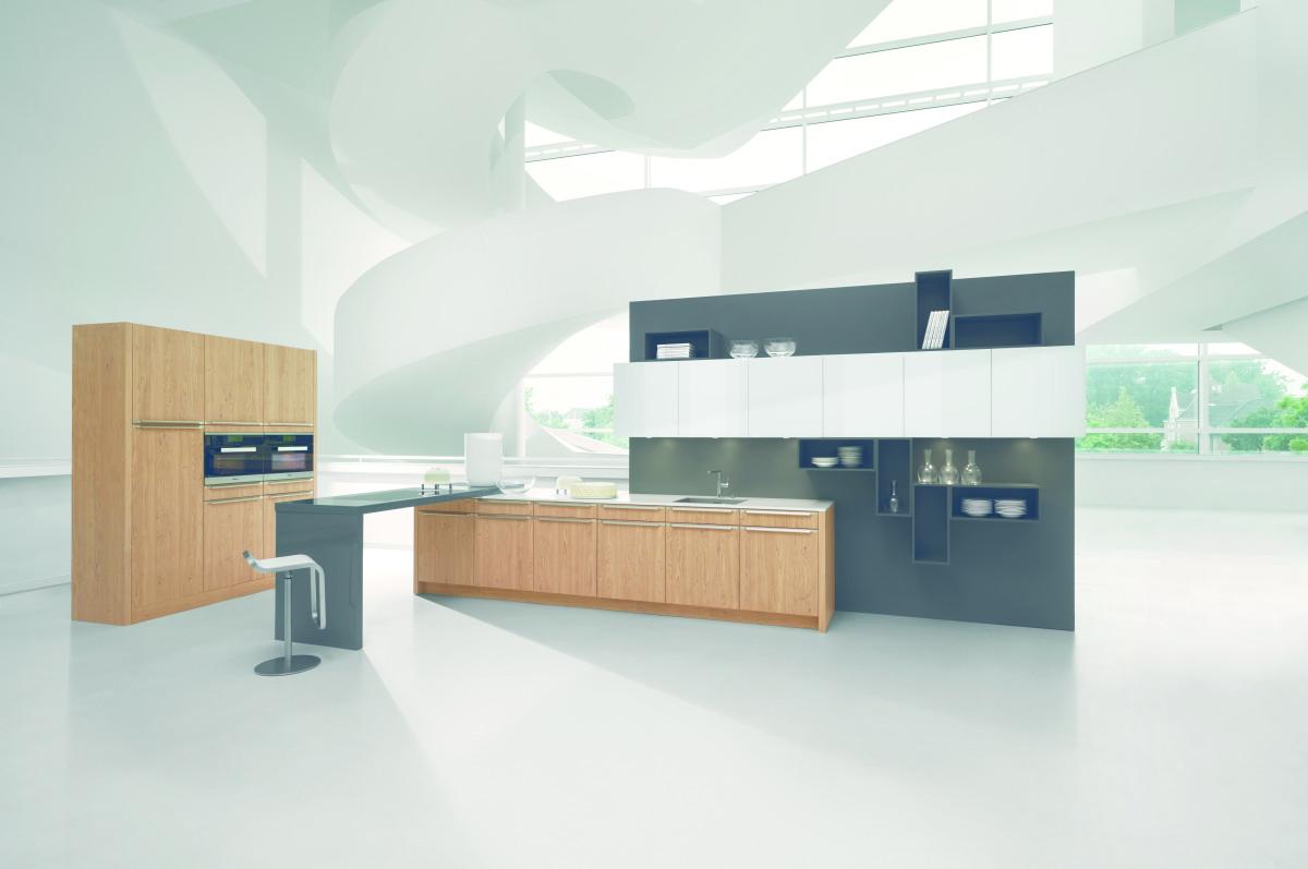 Design Küche W.Eiche